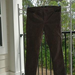 LAUREN Ralph Lauren brown corduroys straight leg